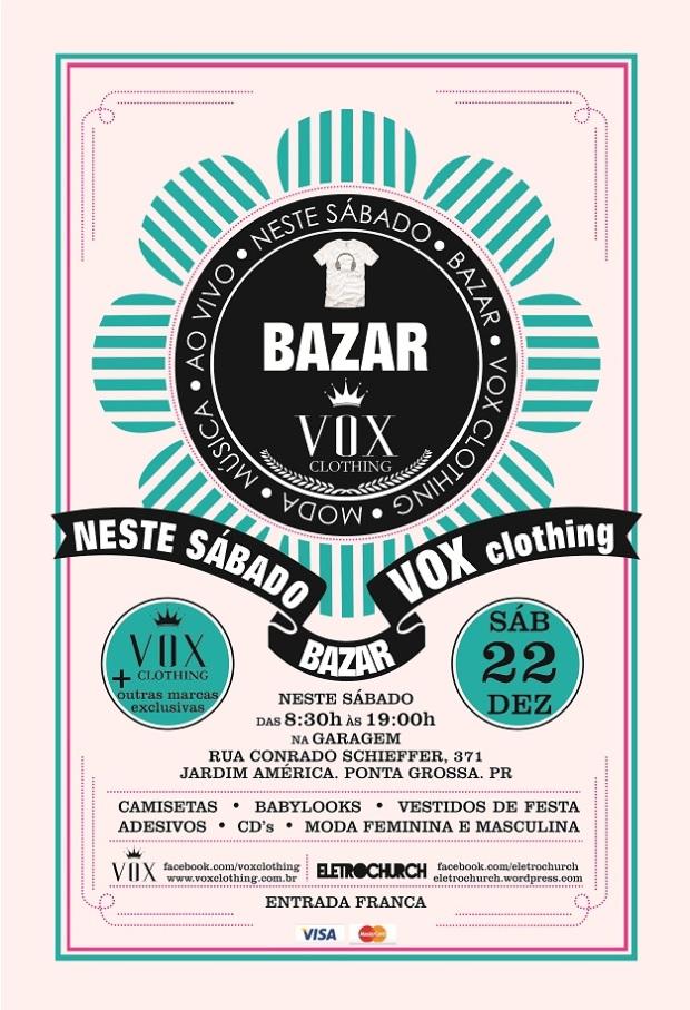 bazar vox clothing ponta grossa