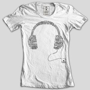 babylook banda eletrochurch jamais serei o mesmo - vox clothing - fone - headphone