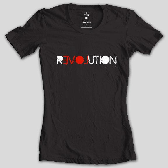 babylook revolution vox clothing revolution of love - black